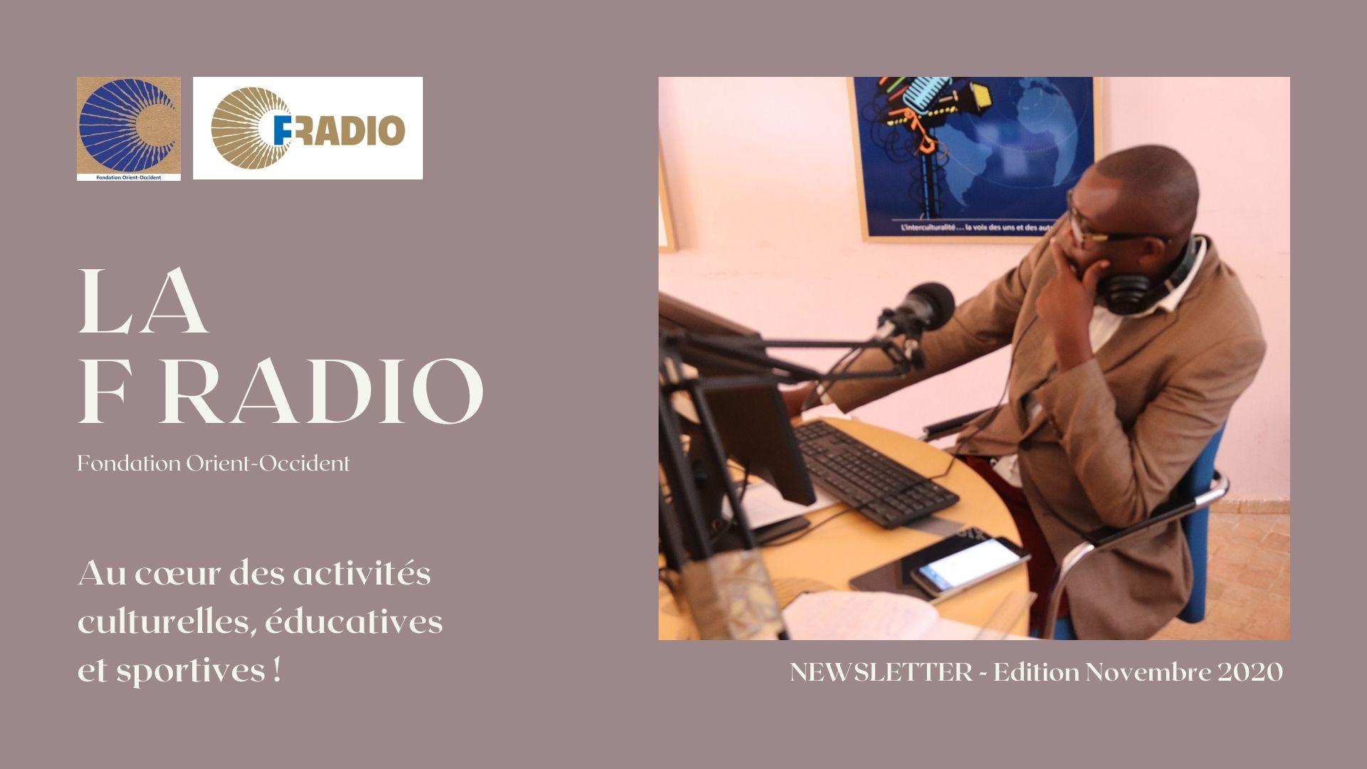 F Radio – Bulletin mensuel Octobre et Novembre 2020