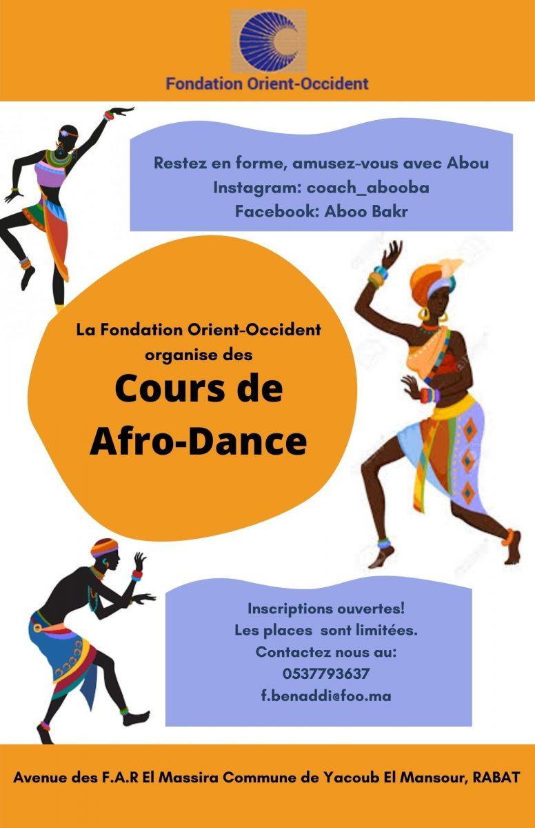 Cours de Afro-Dance