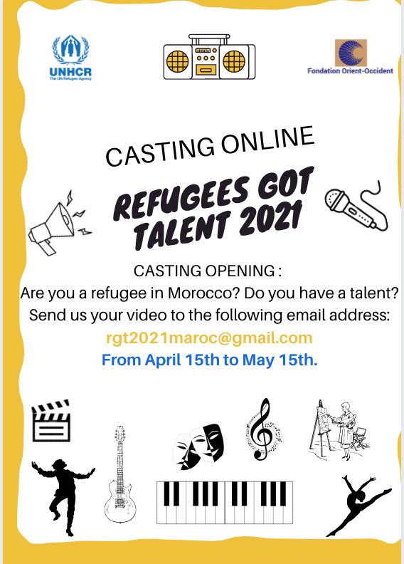 Refugees Got Talent is back! 2021 edition – Casting online open!