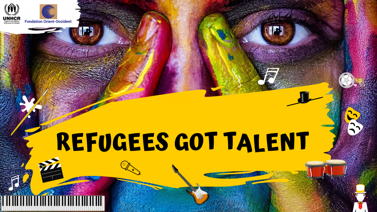 Happening Tomorrow! The final of Refugees Got Talent.