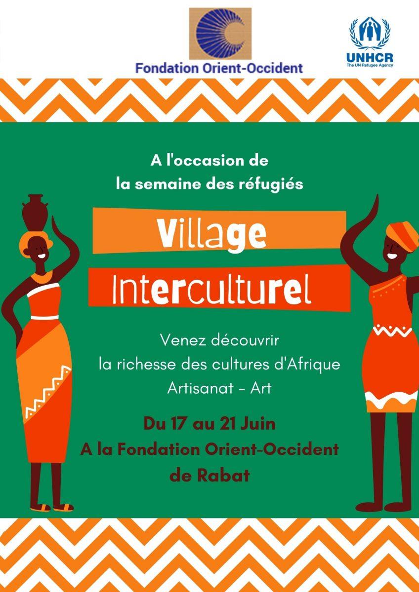 Intercultural village at the Fondation Orient-Occident of Rabat